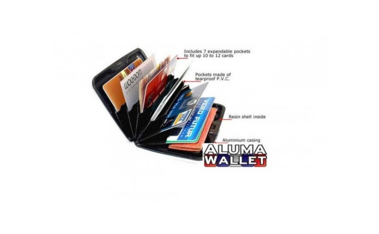 Portofel pentru carduri Aluma Wallet