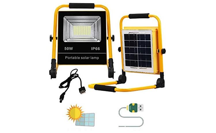Proiector solar cu LED