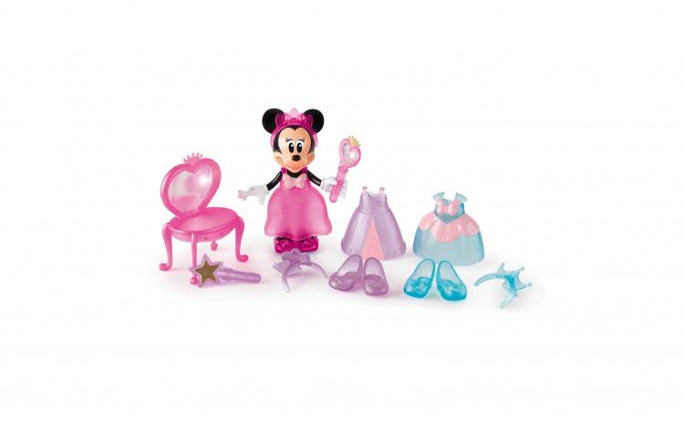 Papusa Minnie cu accesorii de frumusete