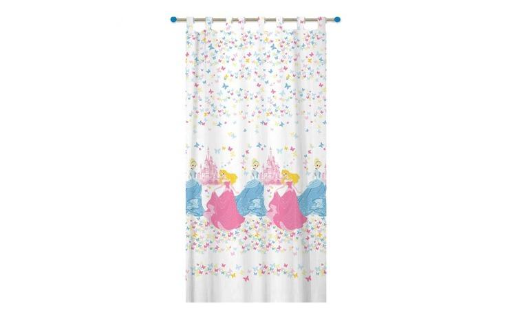 Perdea Disney Princess, 150x300 cm, roz