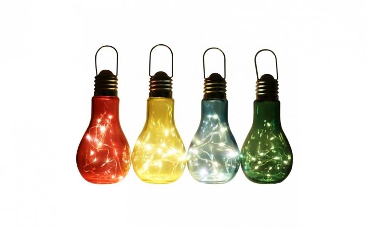 Lampa LED de gradina in forma de bec