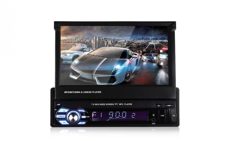 Mp3 Mp5 Player Auto Cu Ecran De 7 Inch