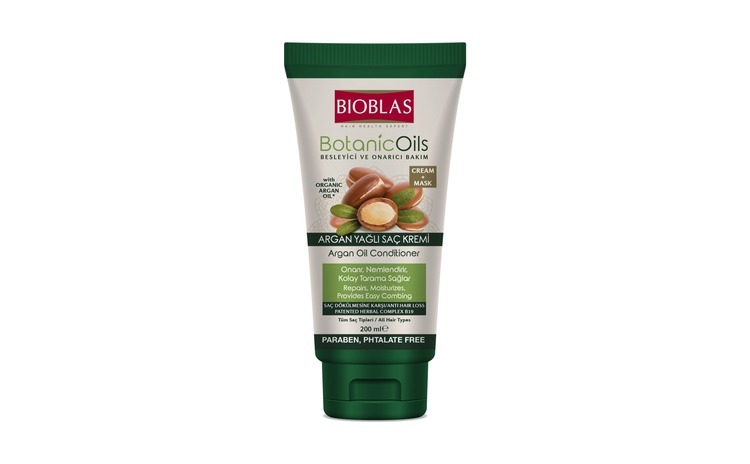 Balsam de păr cu ulei de argan Bioblas