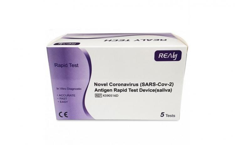 Test Rapid COVID-19 Saliva Antigen 5 buc