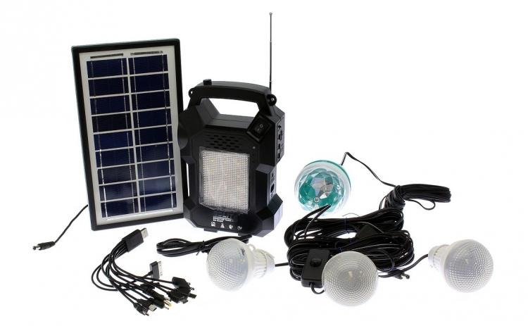 Kit Panou solar fotovoltaic - 4 becuri