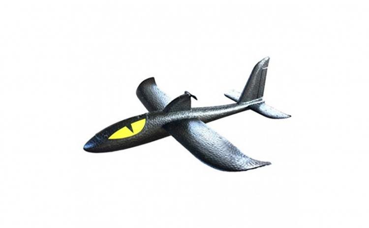 Avion planor din spuma flexibila 36x35