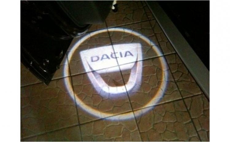 Logo Usi DACIA (cu baterii)