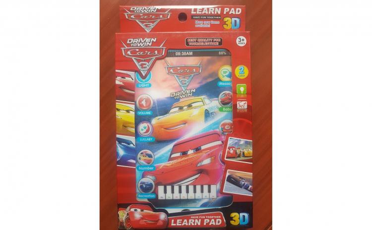 Tableta 3D Cars