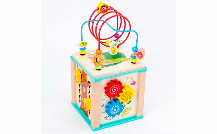 Cub activitati 5 in 1 cu labirint bile