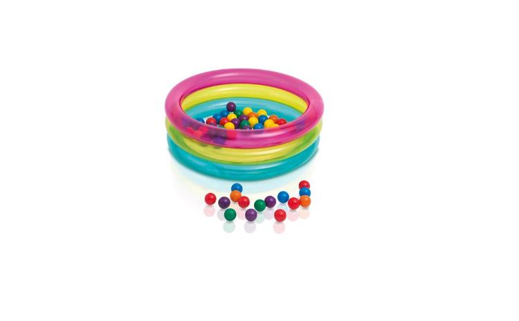 Piscina gonflabila de joaca cu bile