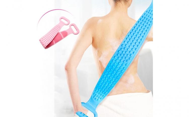 Perie banda silicon pentru spate