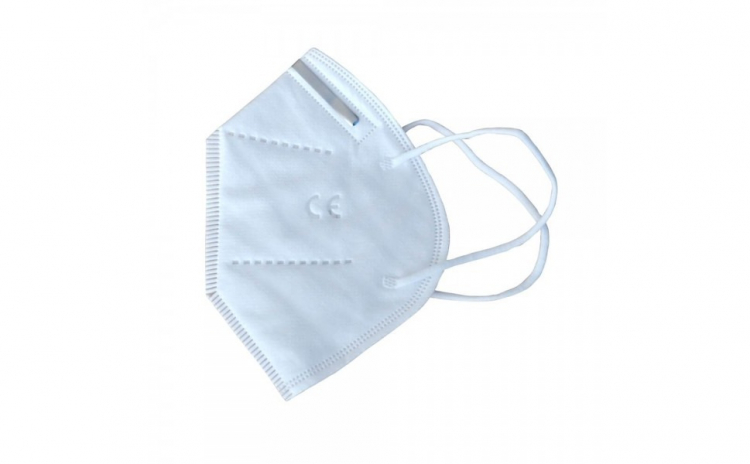 Masca protectie KN 95, alba, fara valva