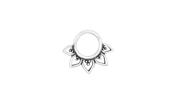 Piercing  nas din Argint, Bali, Silver,