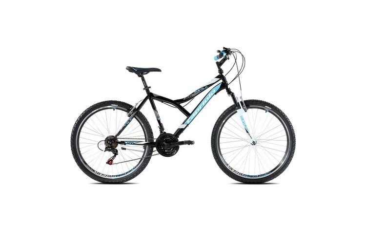 """Bicicleta CAPRIOLO Diavolo 600 FS 26"""""""