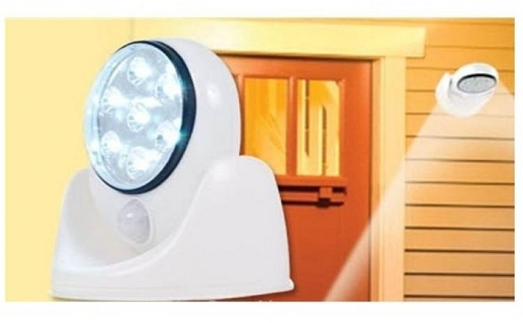 Lampa fara fir cu senzor de miscare