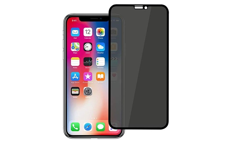 Set 2x Folie Privacy MTP iPhone XS Full