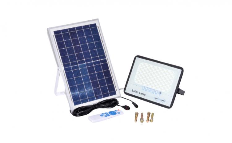 Lampa led 200W cu panou solar