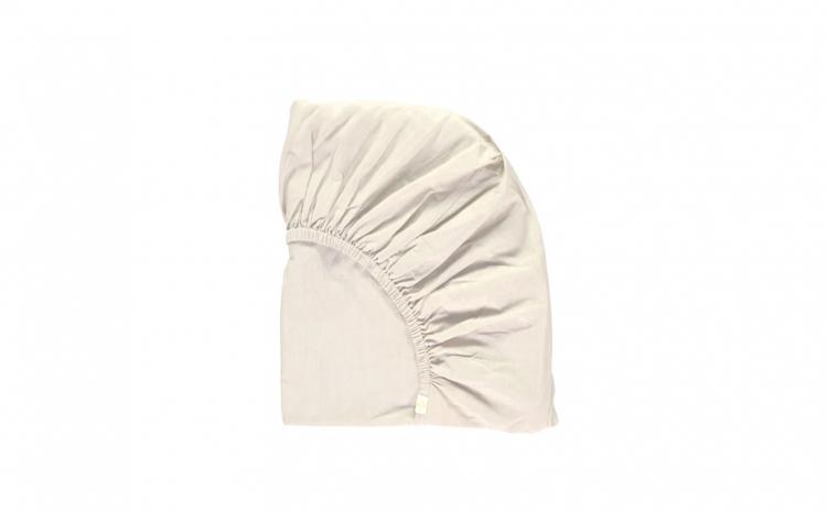 Cearceaf alb de pat cu elastic