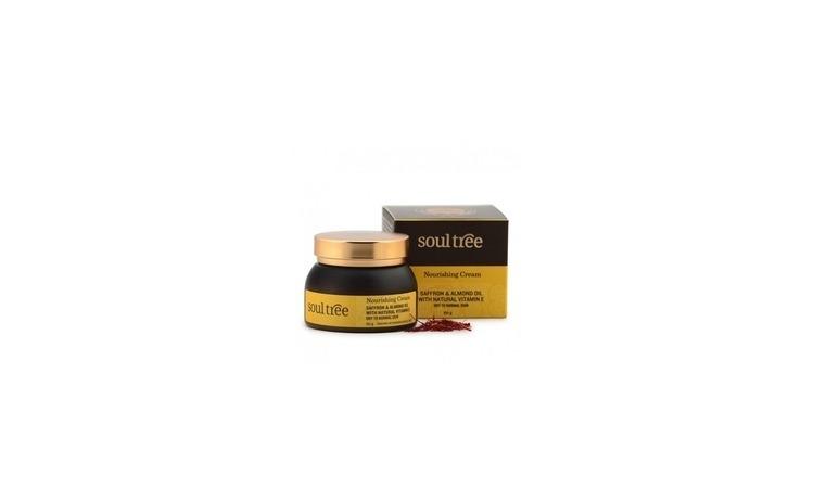 Crema nutritiva cu sofran SOULTREE 60-ml