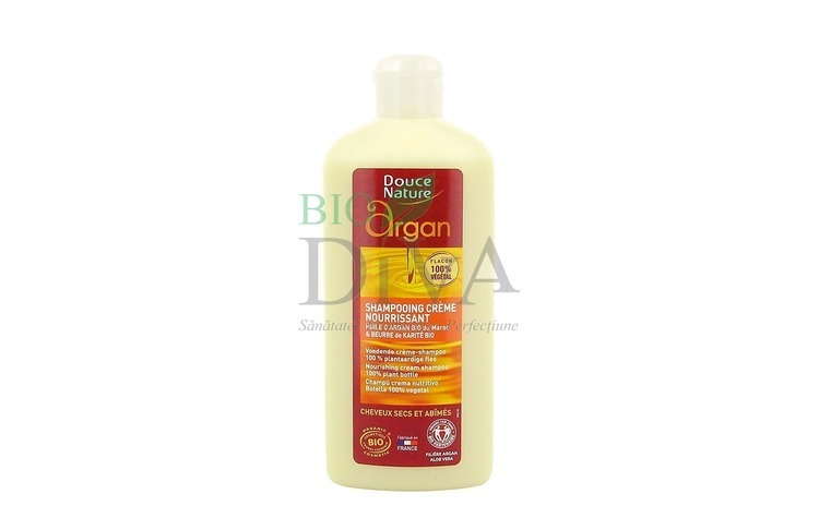 Sampon crema cu ulei de argan DOUCE NATURE 250-ml