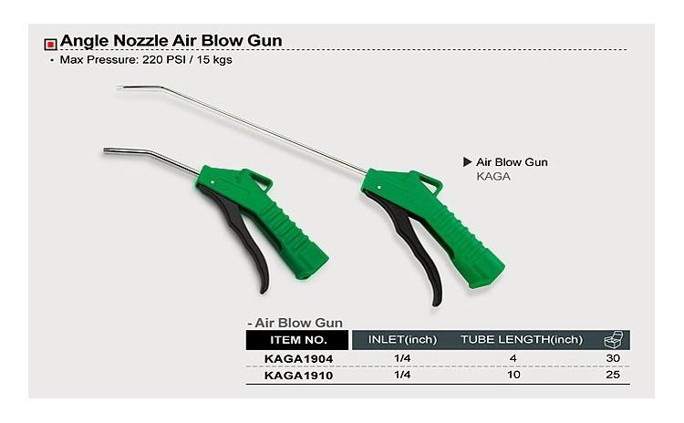 Pistol pneumatic suflat aer