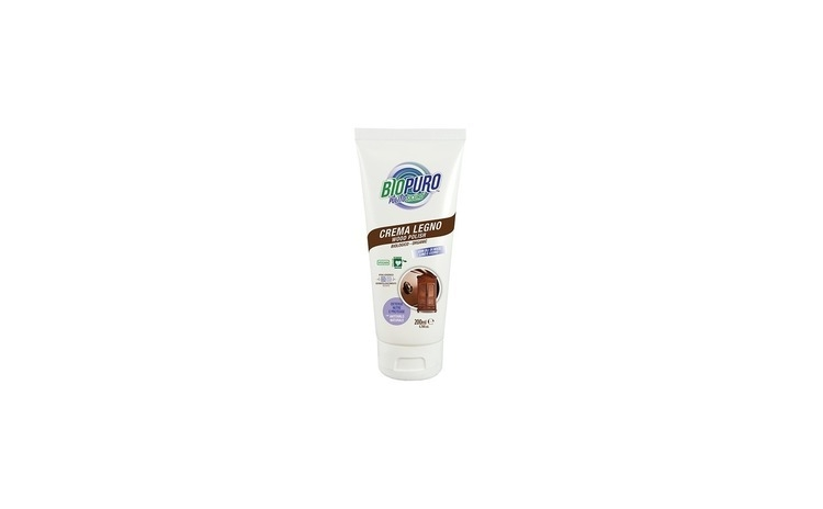 Crema/ polish hipoalergen pentru curatarea, lustruirea si intretinerea lemnului bio BIOPURO 300-ml