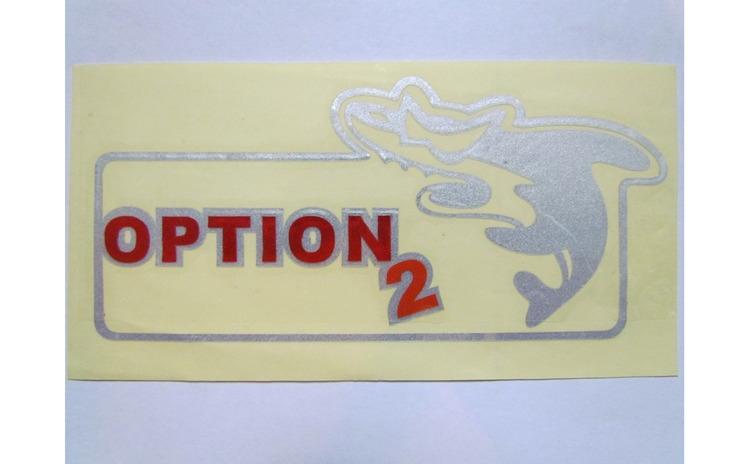 Abtibild OPTION 2 DZ-60W GRI
