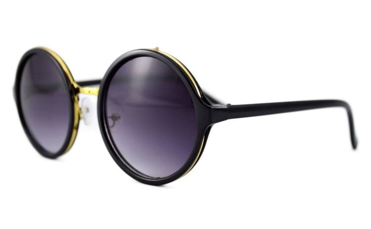 Ochelari de soare Rotunzi Mov inchis -