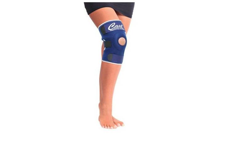 Orteza de genunchi cu suport patelar