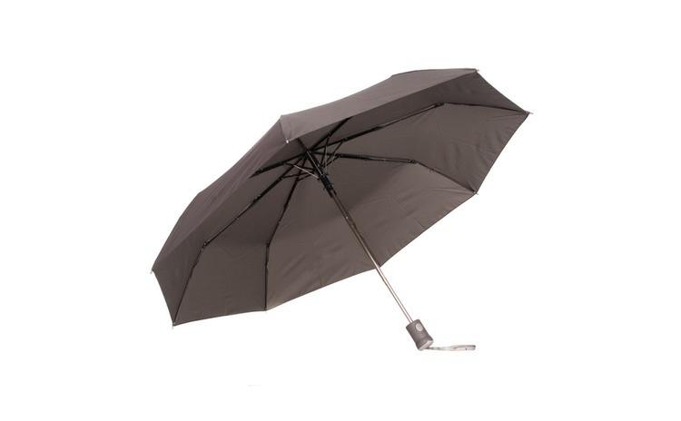Umbrela telescopica, gri, deschidere