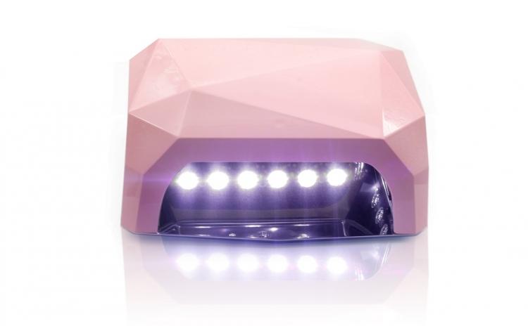 Lampa Unghii Led Uv Unghii 54w Hybrid Profesionala Alb