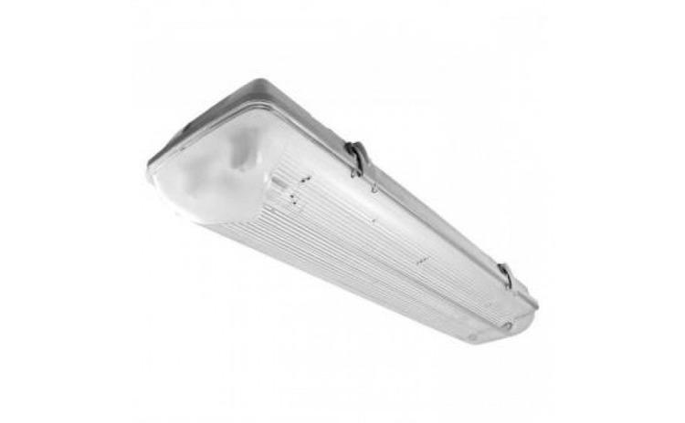 Corp dublu pentru tub LED T8 60cm