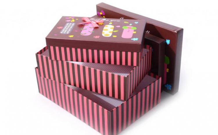 Set 3 cutii de cadou