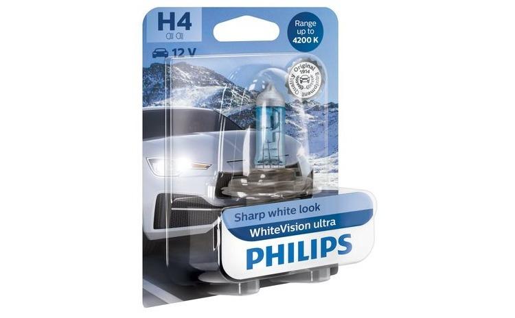Philips H4 White Vision Ultra 4200K