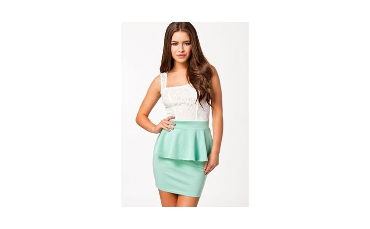 Rochie Mint Green Lace