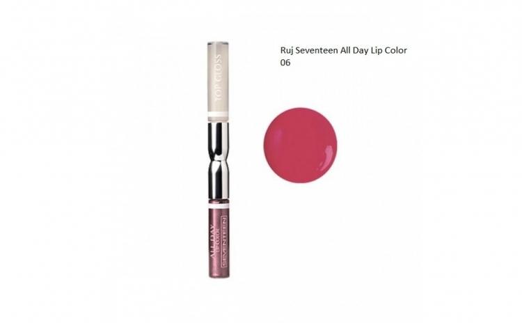 Ruj All Day Lip Color&Top Coat
