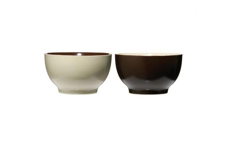 Set decorativ de castroane ceramice