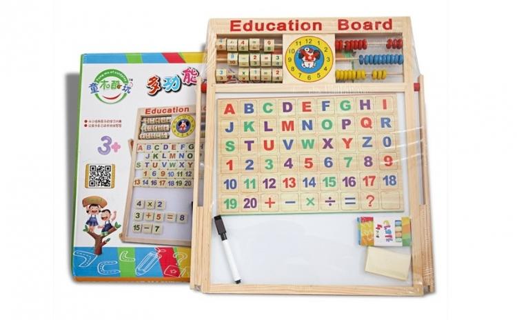 Tabla magnetica educativa 40x40