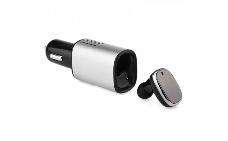 Casca Bluetooth + incarcator de masina