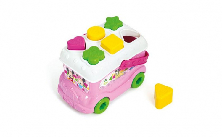 Autobuz de sortat forme Minnie Mouse