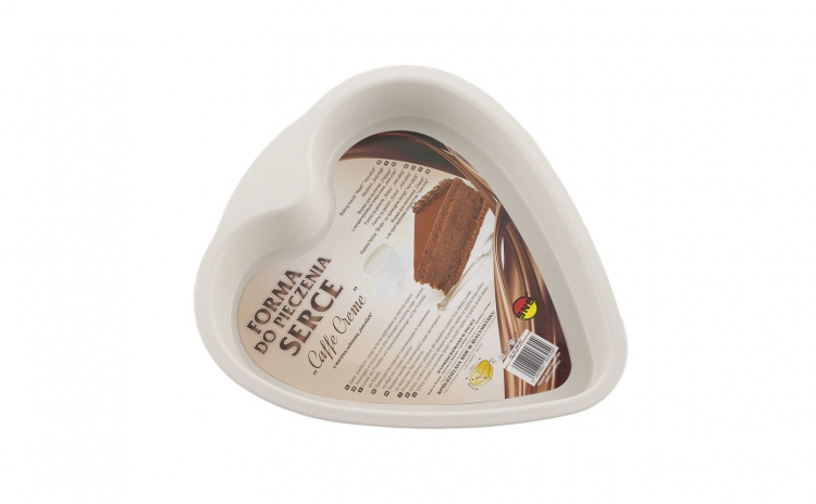 "Forma inima ""Caffe Cream"" 240 x 260 x 45"