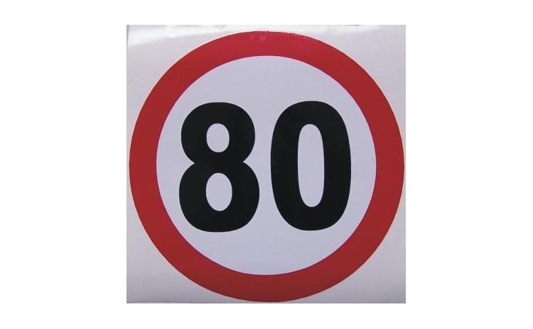 Limitator viteza - 80