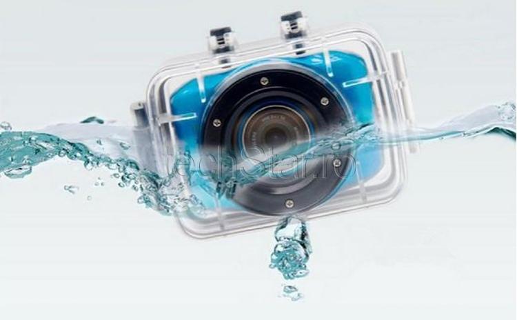 Camera Sport Si Auto Camcorder Hd Touchscreen Waterproof Pachet Full Cu Suporti De Prindere La Doar 248 Ron In Loc De 620 Ron