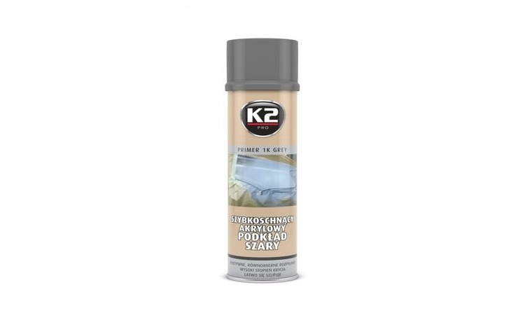Spray grund gri Primer 1K gri, 500 ml