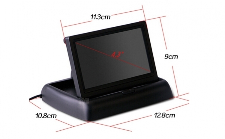 "Set ecran pliabil TFT LCD 4.3"""
