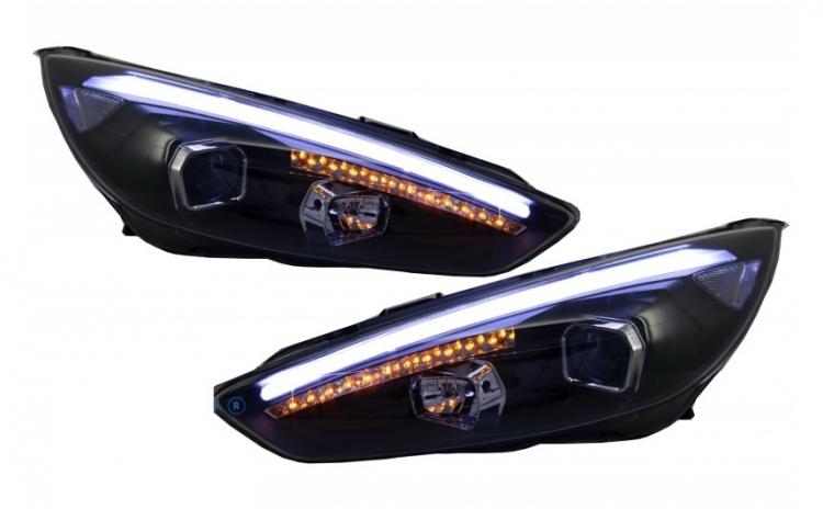 Set 2 faruri LED DRL compatibil cu Ford