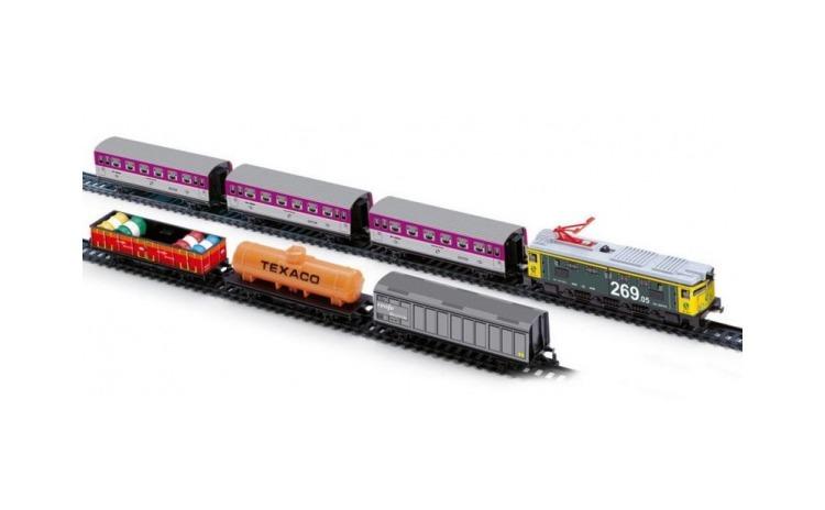 Trenulet electric calatori si marfa
