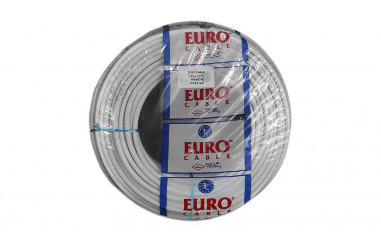 Cablu Electric 3x2,5mm x 100metri