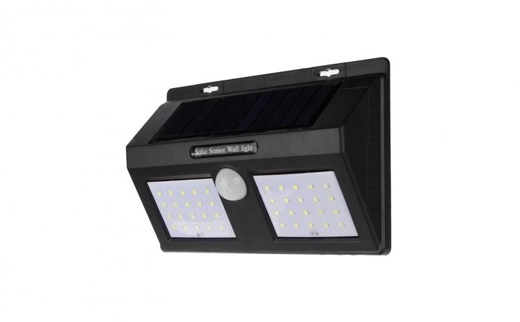 Lampa cu LED Dubla solara 40 LED