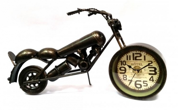 Motocicleta decor
